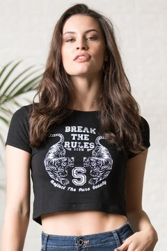 Remera  Break the rules 9060819021 - comprar online