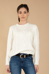 "Sweater ""Strass hombro"" NATURAL 9035120013"