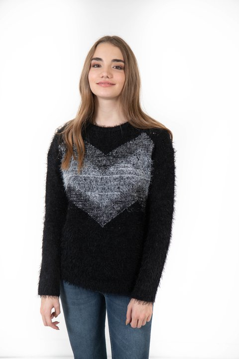 sweater Juana pelo mono lurex en internet
