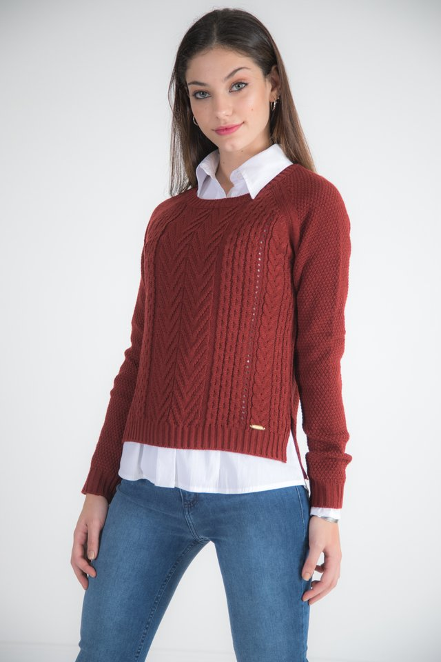 Sweater Picos 2093 - scombro