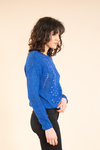 Sweater azul QUEEN 90353013