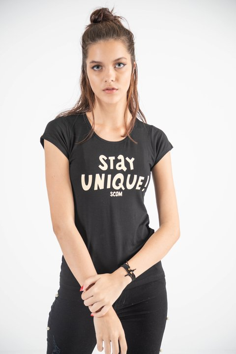 remera stay unique cuello u modal lycra en internet