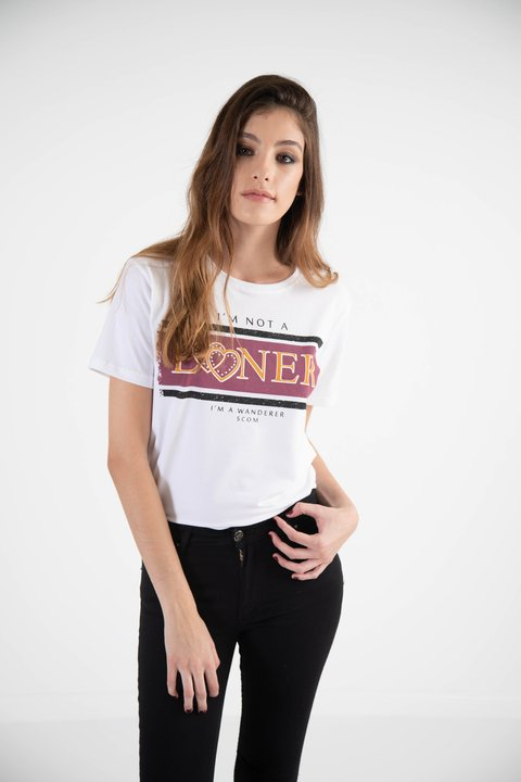 remera im not a loner, jersey de algodon
