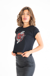 Remera Rock & Roll negra
