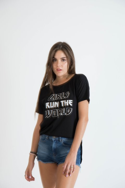 remera girls run the world - comprar online