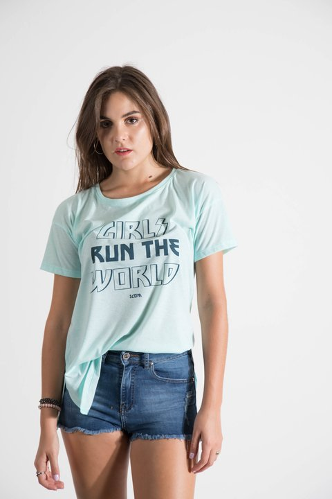 remera girls run the world - tienda online
