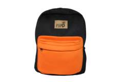Mochila Neoprene Black & Orange