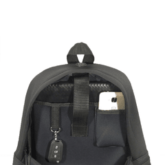 Mochila Neoprene Black & Orange - comprar online