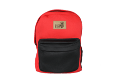 Mochila Neoprene Red & Black