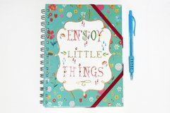 "Cuaderno ""Enjoy the little things"""