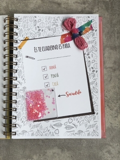 "Cuaderno ""Smash Book Live, laugh, love"" (copia) en internet"
