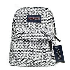 Mochila Jansport Superbreak Gris y Blanco 25l