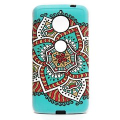 Funda Moto E4 Plus Mandala Colores Anti Golpes