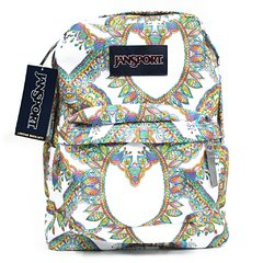 Mochila Jansport Superbreak Mandala Arcoiris 25l
