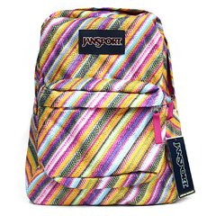 Mochila Jansport Superbreak Rayas Multicolor 25l