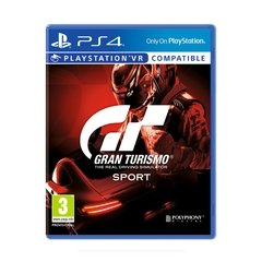 Juego playstation PS4 Gran turismo Sport