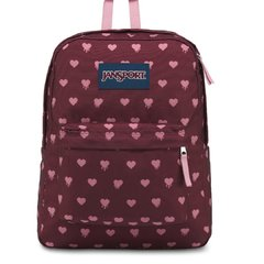 Mochila Jansport Superbreak 25L Russet Hearts