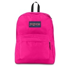 Mochila Jansport Superbreak 25L Ultra Pink