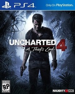 Juego Playstation Ps4 Uncharted 4 A Thiefs End
