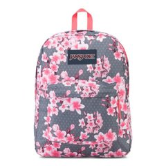 Mochila Jansport Superbreak 25L Diamond Pink