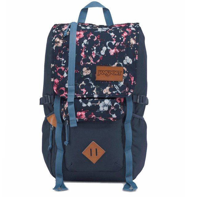 Mochila Jansport Disney Hatchet mickey floral