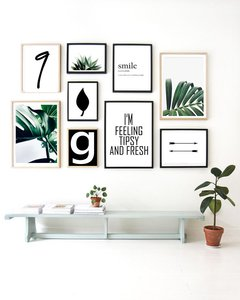 SET LOVE FOR PLANTS GREEN