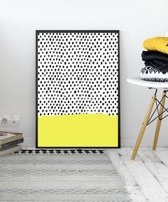 CUADRO ABSTRACT CIRCULES YELLOW