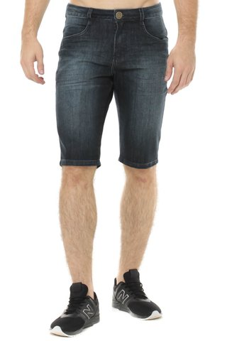 Bermuda Jeans Middle Plus Z-32 Azul