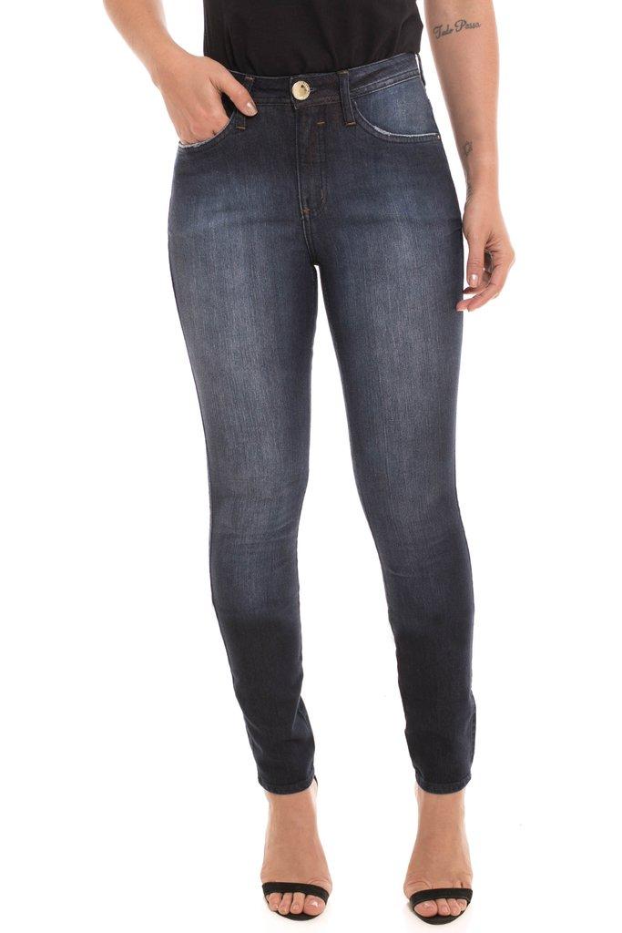 b1b4d7d3c Calça Jeans Z-32 Mid Rise Skinny Cor Única