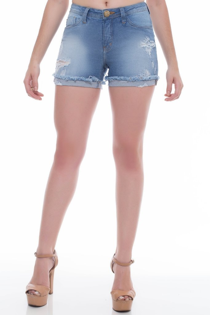 Shorts Z-32 Angie Plus Azul