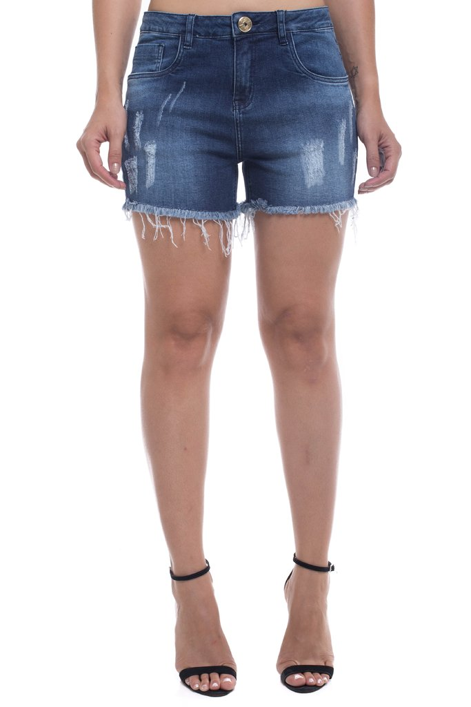 Shorts Jeans Mid Drop Z-32 Azul