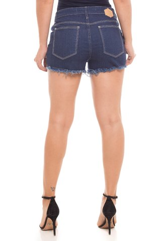 Shorts Jeans Z-32 Mid Drop Azul na internet