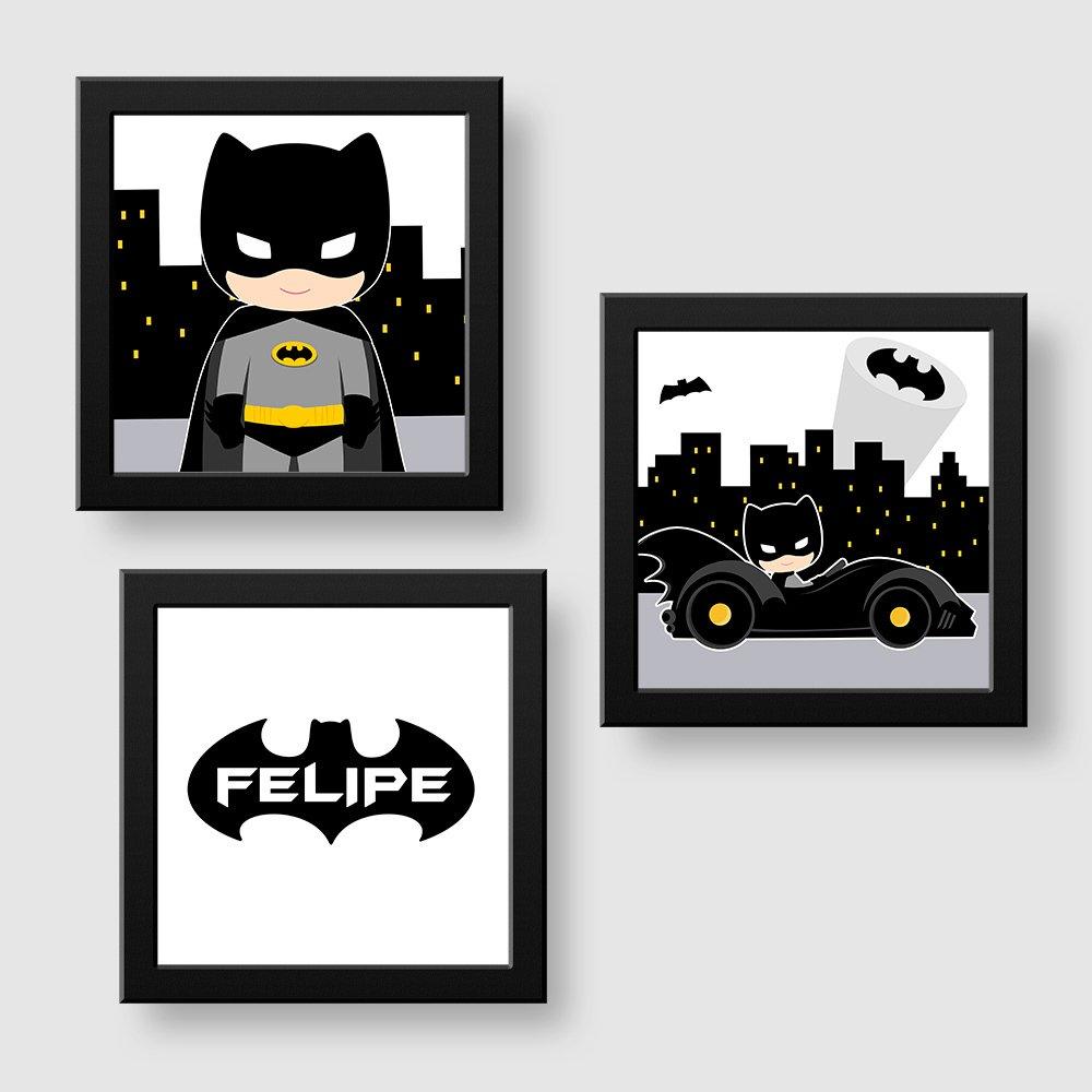 Decoração para quarto de menino Batman ed74e05af02