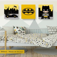 Batman Cute - Placas decorativas
