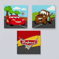 Carros Disney - Placas decorativas