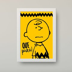 "Charlie Brown ""Snoopy"" - Poster Decorativo - comprar online"