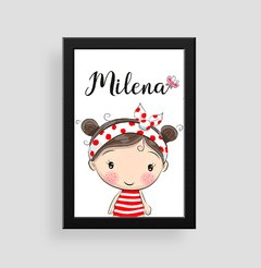 Cute Girl - Poster Decorativo Personalizado na internet