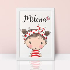 Cute Girl - Poster Decorativo Personalizado