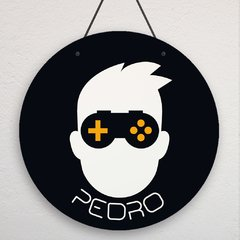 placa tema video game