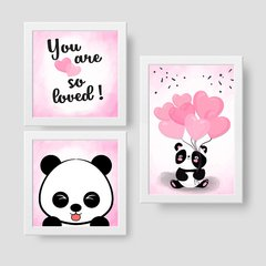 Panda Love - Kit quadrinhos na internet