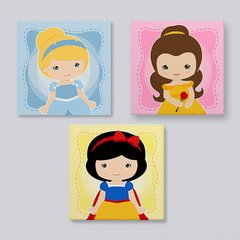Princesas Disney {kit 1} - Placas decorativas