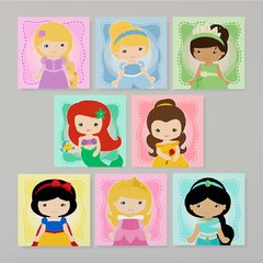 Mega Kit Princesas Disney Baby#8  - Placas decorativas - comprar online