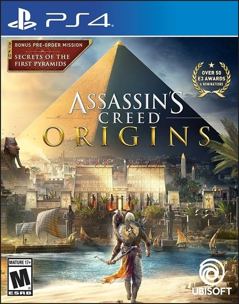 Jogo Assassins Creed Origins - PS4