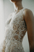 3D Leafs Wedding Dress en internet