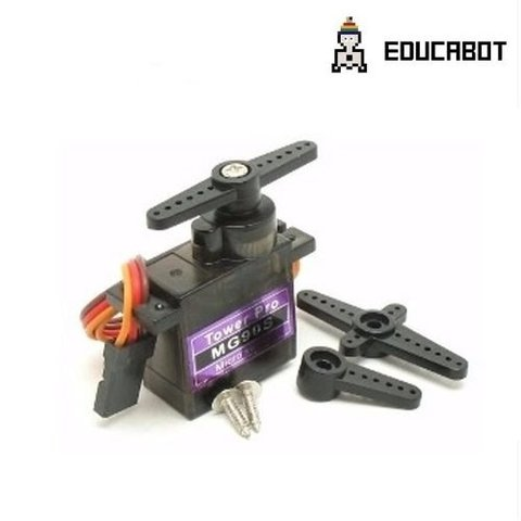 Mini Servo Tower Pro Mg90 1.8kg Engranajes Metal Arduino - comprar online