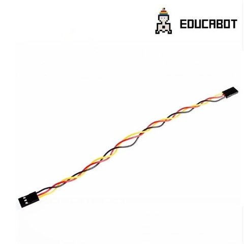Cable Hembra Hembra 3 Pines 20cm 2.54mm Arduino Jumper Wire