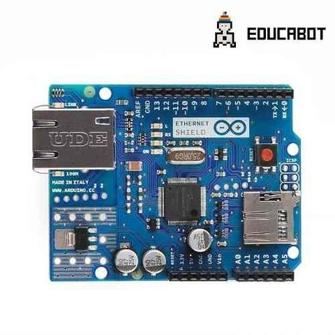 Ethernet W5100 R3 Shield + Lector Sd  Arduino