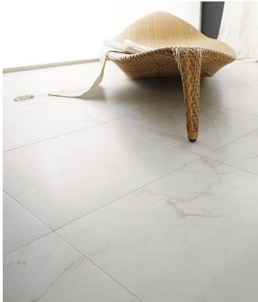 Porcelanato Portinari Lumina White 100x100  Simil marmol (M2) en internet