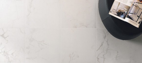 Porcelanato Portinari Lumina White 100x100  Simil marmol (M2)