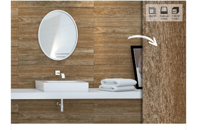 PORCELANATO SIMIL MADERA 20X120 PORTINARI IPE HD RT (M2) en internet